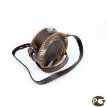 Фляжка 0,6л в комбинированном чехле